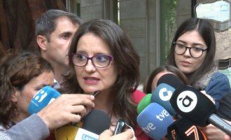 """Oltra celebra que esta vez sí se apruebe la reforma del Estatuto valenciano: """"Parecía que estaba gafada"""""""