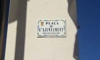 Noves plaques per als carrers d'Alfafar