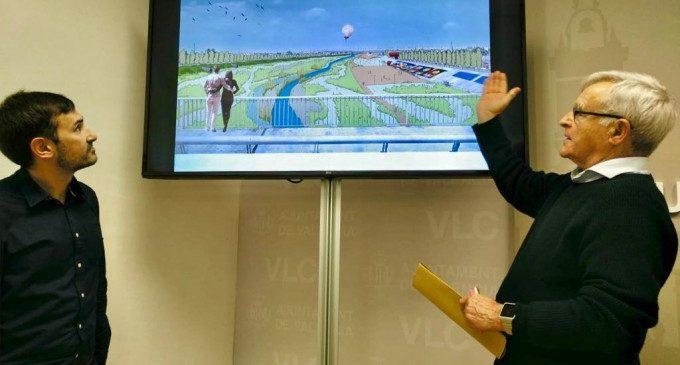 Una gran infraestructura verda, la proposta de Ribó per al nou llit de riu Túria