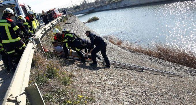 Rescaten a un home embriac caigut al barranc del Carraixet i al corredor que es va llançar per a salvar-li