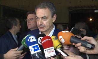 Zapatero aposta per un pacte d'esquerres de PSOE amb Podem i Més País i descarta una gran coalició