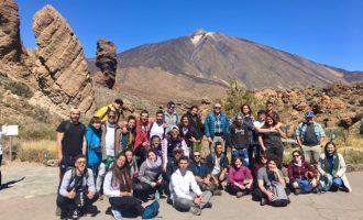 Alumnes de l'Escola de Capatassos Agrícoles de Catarroja completen la seua formació a Tenerife
