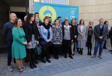 Maria Josep Amigó entrega el premi de la Federació Valenciana de Municipis a Les Coves de Vinromà