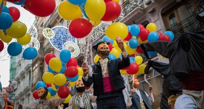 Cavalcada del Ninot 2020: espectacle i sàtira fallera pels carrers de València