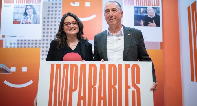 'Imparables': Oltra i Baldoví presenten la imatge de campanya de Compromís