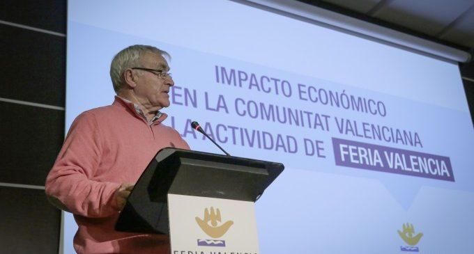 Ribó reafirma la seua aposta per Fira València per l'impacte econòmic de la ciutat