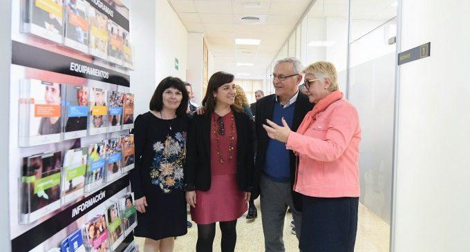 Ribó visita el nou centre de servicis socials de La Saïdia