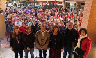 Més de 400 persones celebren el Dia de la dona a Albal