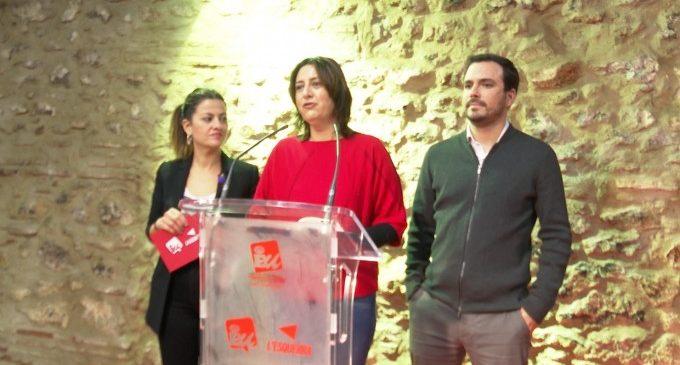 """Garzón afirma que només contempla la confluència amb Podemos per a """"no beneficiar a la dreta reaccionària"""""""
