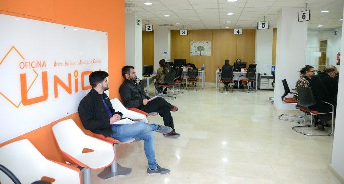 L'Oficina UNICA de Paiporta estableix l'atenció amb cita prèvia per a les vesprades i els dissabtes de matí