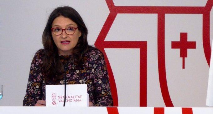 """Oltra sobre l'agressió sexual a Alacant: """"Cada vegada més dones i adolescents se senten amb força per a denunciar"""""""