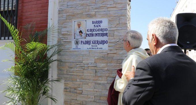 El barri Sant Gregorio de Torrent ret homenatge al Pare Gerardo