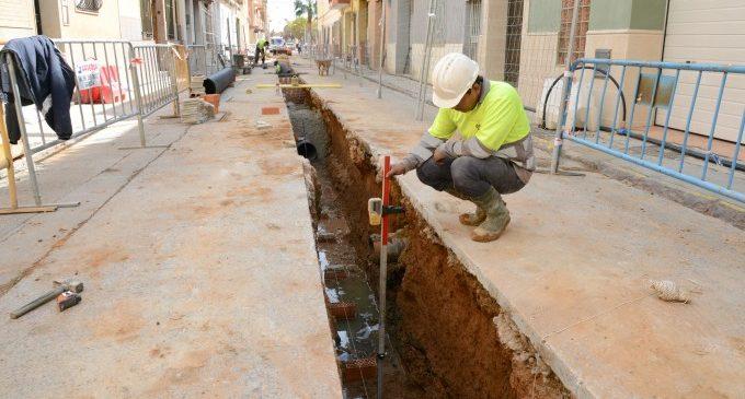 Ampliació i millora de voreres, accessibilitat i clavegueram a Paiporta