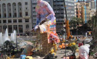 La Plantà 2019: centenars de monuments fallers inunden València