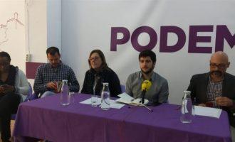 """Estañ (Podem) diu que la ciutadania es juga en les eleccions un """"model de país"""" i """"avançar en drets"""""""