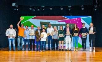Moncada distingue a sus mejores deportistas del año en la VIII Gala de l'Esport
