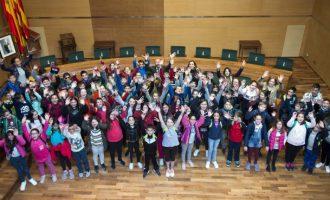 El col·legi Sant Vicent Ferrer de Faura fa una visita a la Diputació