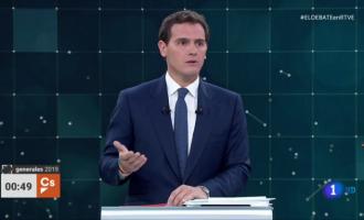 """Rivera compra les tesis de Cantó i Bonig per a assegurar que el castellà """"perilla"""" en la Comunitat"""