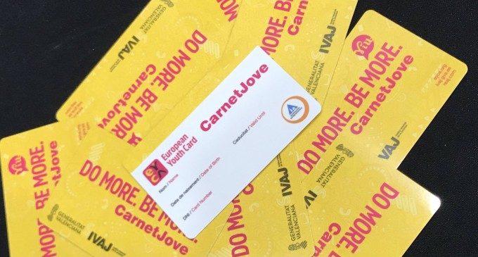 Entra en vigor el nou Carnet Jove de la Generalitat Valenciana amb més descomptes