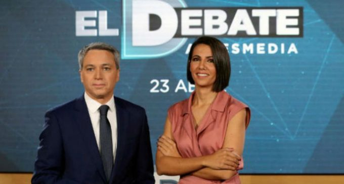 """El debate de Atresmedia en el aire por """"desproporcionalidad"""" en la presencia de Vox"""
