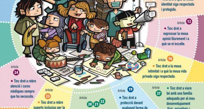 Benetússer posa en marxa una campanya d'informació sobre els drets de la infància