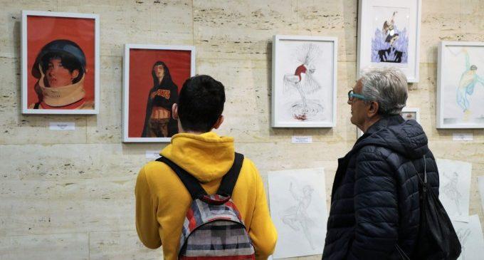 L'alumnat artístic de l'IES Tirant lo Blanc presenta una exposició amb els treballs realitzats