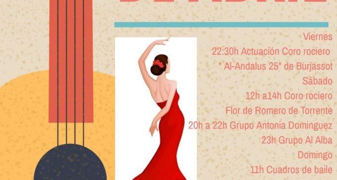 Burjassot celebra la III Fira Andalusa del municipi aquest cap de setmana