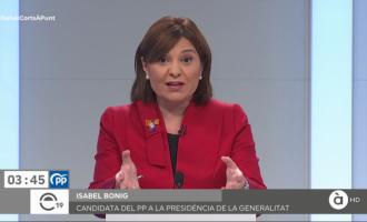 Bonig destaca la herencia 'negativa' de Zapatero y olvida los casi 4.000 millones de la corrupción del PP