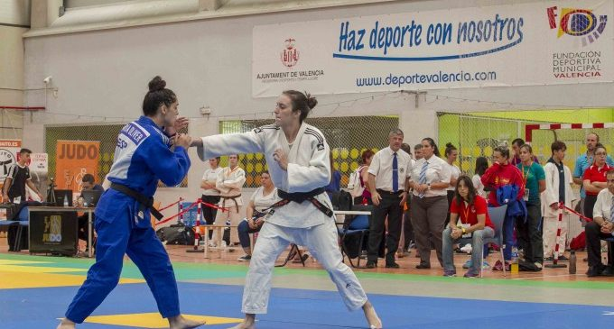El Pabellón Municipal Font de Sant Lluís acoge el Campeonato de España de Judo Infantil y Cadete