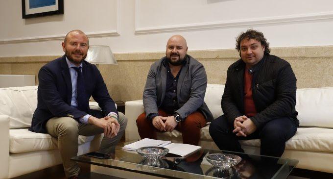 L'alcalde de Gilet visita la Diputació per a abordar temes relacionats amb el municipi