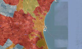 Compte arrere per al 26M: empat a València i reforç del Cinturó Roig