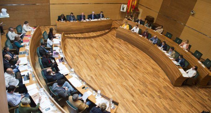 La Diputació de València celebra el 10 de juliol el ple de constitució després de les eleccions locals del 26M