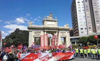 """Intersindical anima a participar en la marcha del 1 de mayo tras la """"victoria de la izquierda"""""""