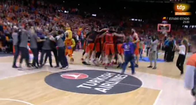 València Basket, campió d'Europa