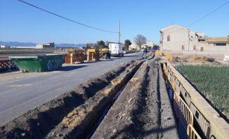 El Ayuntamiento de Meliana lleva el agua potable a un grupo de alquerías del núcleo de Roca