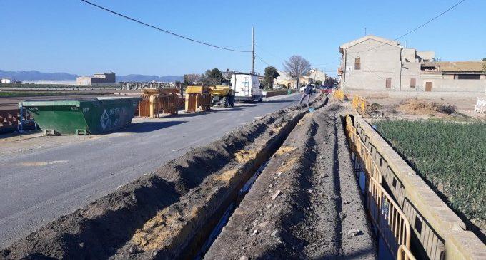 L'Ajuntament de Meliana porta l'aigua potable a un grup d'alqueries del nucli de Roca