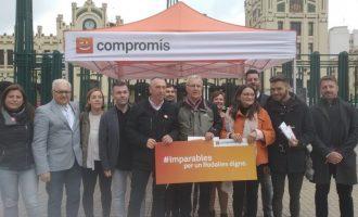Compromís reclama al Estado las competencias en Cercanías y propone un título único para tren, metro y autobús