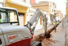 Paiporta duplica les inversions en clavegueram i triplica les de xarxa d'aigua