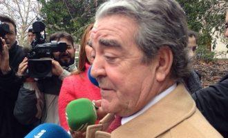 La jueza del caso Azud deja en libertad a José María Corbín, cuñado de Barberá