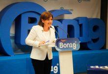 """Bonig: """"El PP continuarà plantant cara a la implantació del nacionalisme"""""""