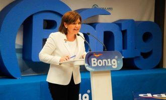 """Bonig: """"El PP seguirá plantando cara a la implantación del nacionalismo"""""""