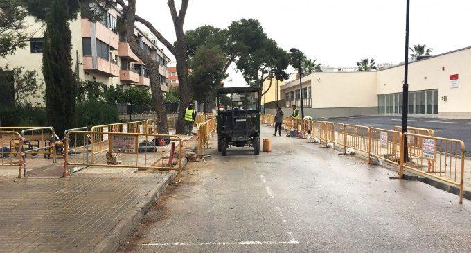 Noves voreres faciliten l'accessibilitat al CEE L'Encarnació