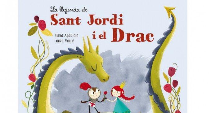 """""""La llegenda de Sant Jordi i el Drac"""", la història del naixement de les roses per als més menuts"""