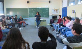 Estudiants d'Alfafar participen en un programa per a prevenir el consum de cànnabis