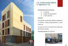 Comença la construcció d'un edifici de quatre habitatges al carrer de la Tapineria