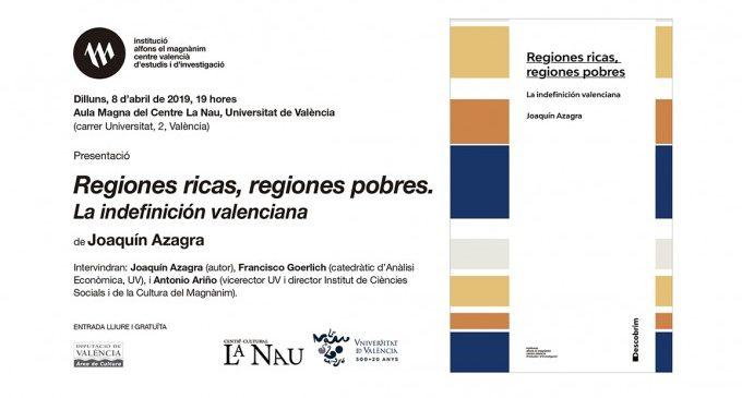 El Magnànim presenta un estudi comparatiu de la societat valenciana amb altres comunitats autònomes