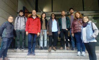 Unides Podem-EUPV recorre Alacant en Rodalia per a exigir la modernització dels trens i noves infraestructures