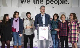 """Unides Podem: """"Els resultats no són els que ens haurien agradat, però s'obri la porta a alternativa progressista"""