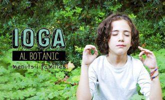 Los más peques pueden disfrutar del yoga en medio de la naturaleza en el Jardí Botànic