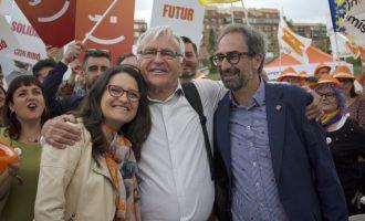 Ribó reivindica Compromís como el partido de la estabilidad y las políticas valientes